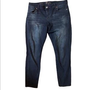 KUT from the kloth Dakota women's dark wash ankle skinny jeans size 14